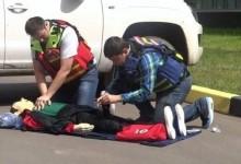 Первая помощь раненому