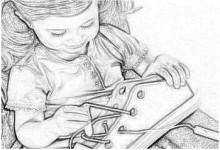 Формирование мелкой моторики дошкольника