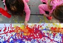 Рисование - любимое детское занятие