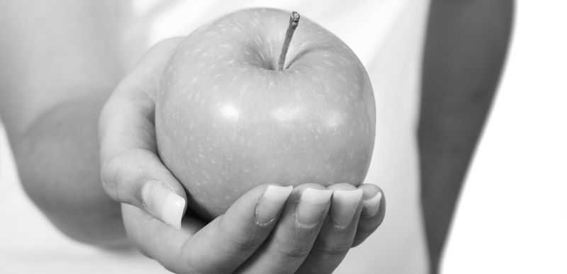 Яблочная диета для похудения фото