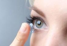 Как носить контактные линзы?