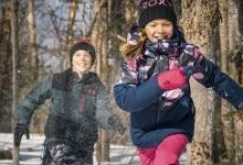 Советы по одеванию детей зимой
