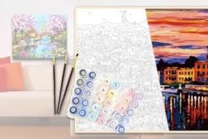 Преимущества рисования картин по номерам для всех
