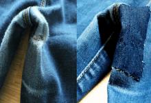 Как починить свои джинсы