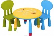 Виды детских стульчиков и столов