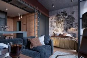 Французское в Кракове идея стильной квартиры!