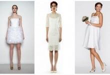 8 преимуществ коротких свадебных платьев